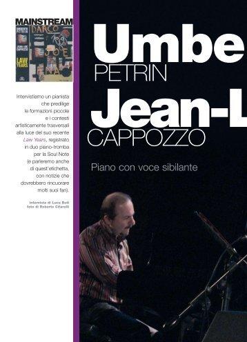 intervista su jazz magazine - Umberto Petrin