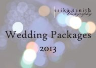 Wedding Packages 2013