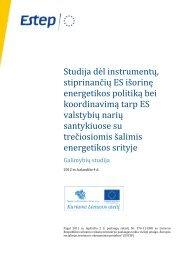 Europos Sąjungos teisės plėtros ir įgyvendinimo sistemos Lietuvos ...