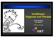 Urolithiasis - Universitätsklinik für Urologie in Tübingen