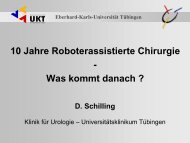 10 Jahre roboterassistierte Chirurgie - Universitätsklinik für Urologie ...