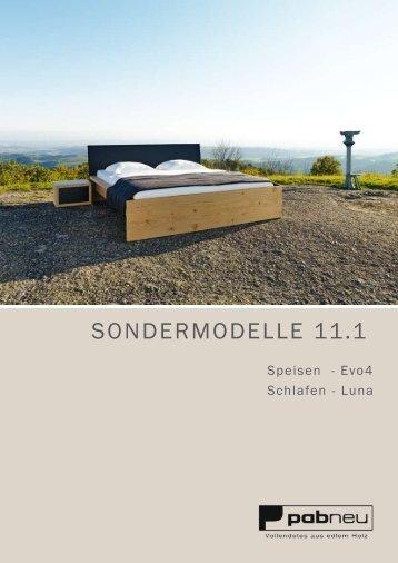 SONDERMODELLE 11.1