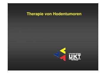 Therapie von Hodentumoren - Universitätsklinik für Urologie in ...