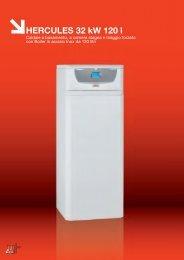 HERCULES 32 kW 120 l - Amax Gas