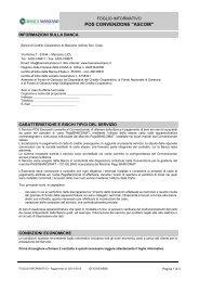 Servizio POS Convenzione Ascom - Banca di Credito Cooperativo ...