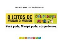 PLANEJAMENTO ESTRATÉGICO 2011 - Fiep