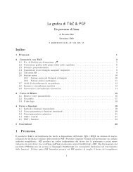 La grafica di TikZ & PGF - GuIT