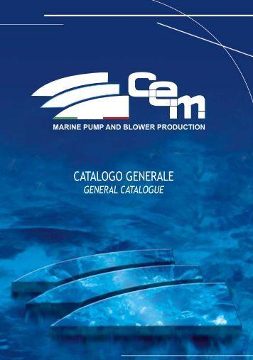 Catalogue - CEM Elettromeccanica Srl
