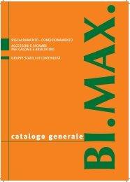catalogo generale - BI.MAX. snc