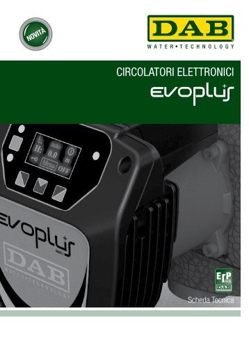 CIRCOLATORI ELETTRONICI - Dab Pumps