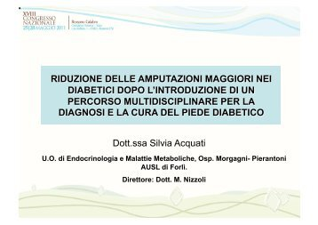 Dott.ssa Silvia Acquati - Infodiabetes.it