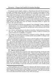 Premessa - Cinque testi inediti di Amadeo Bordiga - n+1