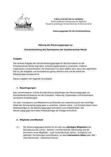 Satzung der Steuergruppe Sept 2010.pdf - Erzbischöfliche ...