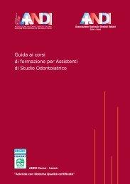 Guida ai corsi di formazione per Assistenti di Studio ... - UNID