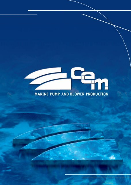 MARINE PUMP AND BLOWER PRODUCTION