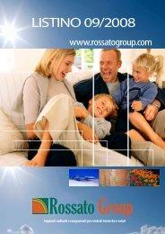 rossato list 9_2008 .pdf - Pontani Service