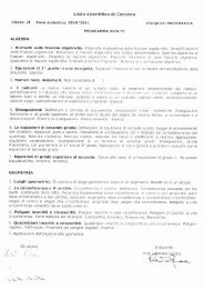 Liceo scientifico di Ceccano - Il Liceo Scientifico e Linguistico di ...