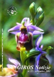 Notiziario 5 - GIROS - Gruppo Italiano per la Ricerca sulle Orchidee ...