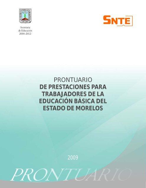 TOTAL Prontuario cdr - SNTE Sección 19