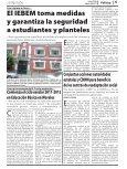 El IEBEM toma medidas y garantiza la seguridad a estudiantes y ... - Page 5