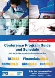 Conference Program Guide and Schedule