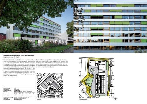 Wohnüberbauung Diener-Areal Zürich-Schwamendingen Adrian ...