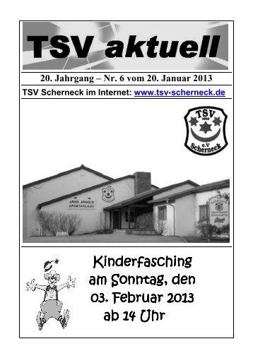 zum Heft Nr. 6 - TSV Scherneck