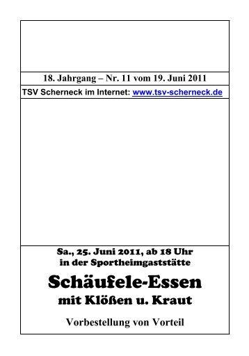 SchÄufele-Essen - TSV Scherneck