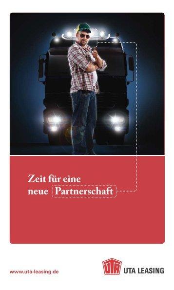 Zeit für eine neue Partnerschaft - UTA Leasing GmbH