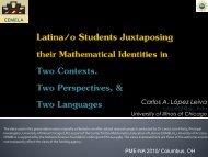 PME-NA__Lopez Leiva.pdf - University of Arizona