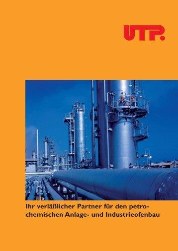 UTP Prospekt Petrochemie - UTP Schweissmaterial