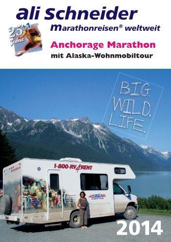Anchorage - Ali Schneider Marathonreisen