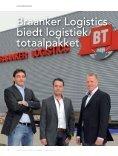 biedt logistiek totaalpakket - Drechtsteden BUSINESS - Page 6