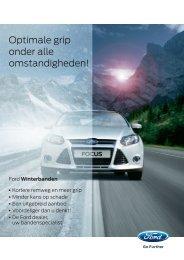 Bekijk het leaflet met onze winterbanden - Ford Nederland