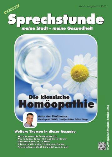 Nr. 4 - Ausgabe II - 2013