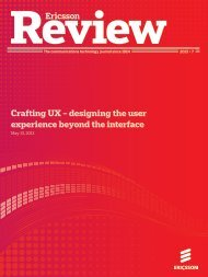 Crafting UX – designing the user experience beyond the interface