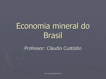 Mineração e transporte