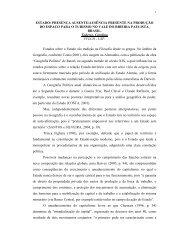 ESTADO: PRESENÇA AUSENTE/AUSÊNCIA PRESENTE NA ...