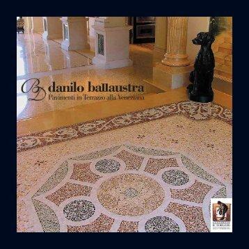 Pavimenti in Terrazzo alla Veneziana - Danilo, Ballaustra