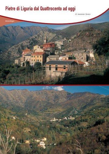 Pietre di Liguria dal Quattrocento ad oggi