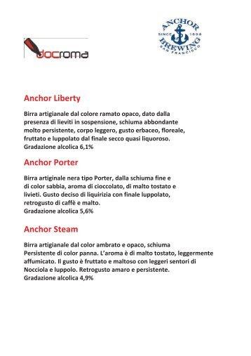 Anchor Liberty Anchor Porter Anchor Steam - Doc Roma