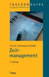 Zeitmanagement, 3. Aufl. - Lexware lohnt sich