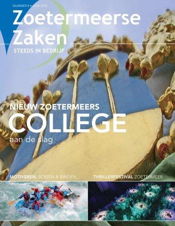 aan de slag - zoetermeersezaken.nl - Zoetermeerse Zaken