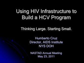 NYS Presentation H.Cruz - nastad