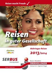 Download Reisen in guter Gesellschaft 2013 - Oberhollenzer