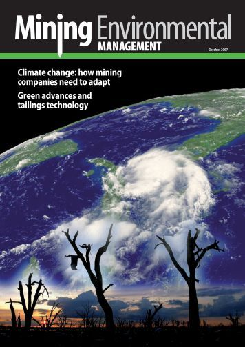 Climate change: how mining companies need to adapt Green ...