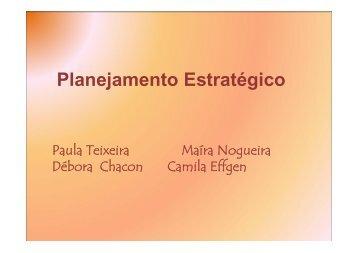 Planejamento Estratégico - Portal PUC-Rio Digital