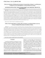 Efeitos da Inclusão do Resíduo da Semente de Urucum (Bixa ...