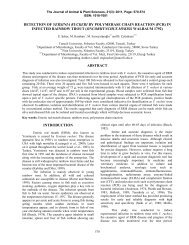 Detection of Yersinia ruckeri by Polymerase Chain Reaction (PCR ...