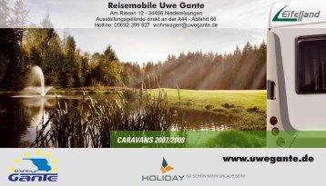 HoliDAy - Reisemobile Uwe Gante